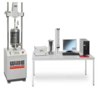 Combined Eletromechanical- Servo Pneumatic Cyclic Triaxial Testing System